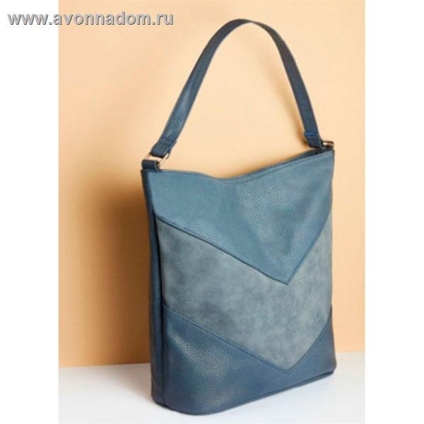 3f73b58ea41c Купить - Эйвон Женская сумка Залина, Темно-синяя Темно-синяя Код ...