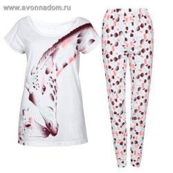 dfe0ac530601 Женская пижама с жирафом эйвон
