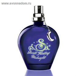 Туалетная вода Secret Fantasy Midnight avon